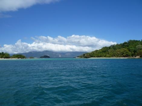 Auf dem Weg zur Ilha Grande